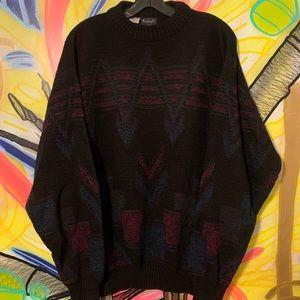 Vintage Kennington Italian Acrylic Pattern Sweater